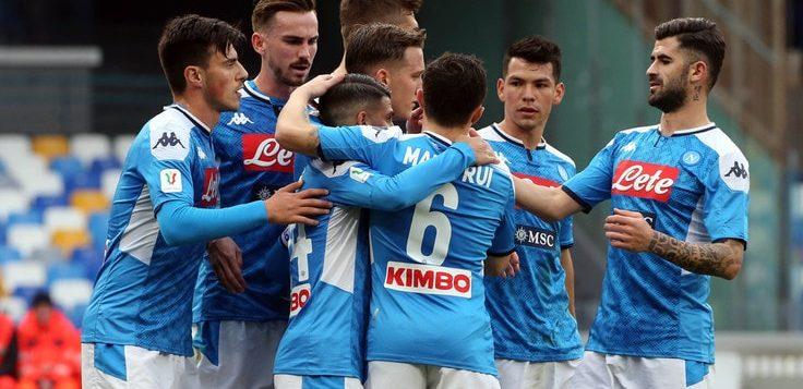 Napoli-Perugia 2-0: vittoria di rigore, azzurri ai quarti di Coppa Italia