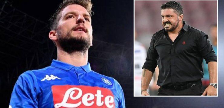 Calciomercato: Gattuso mediatore tra Mertens e Napoli per rinnovo