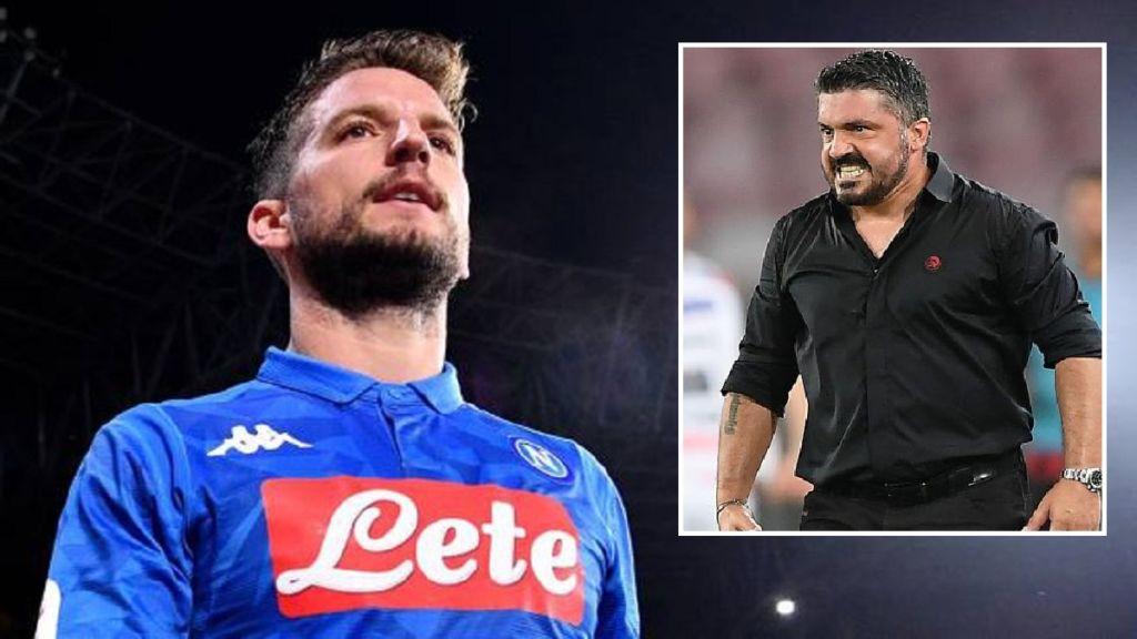 Calciomercato: Gattuso mediatore tra Mertens e Napoli per rinnovo - NAPOLI CALCIO