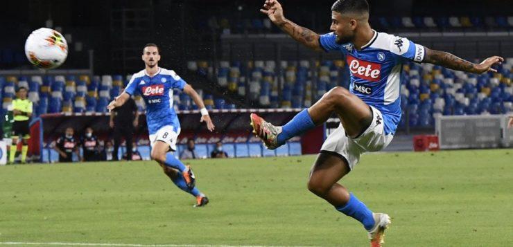 Napoli-Roma 2-1: goal Callejon poi una perla di Insigne, giallorossi raggiunti in classifica