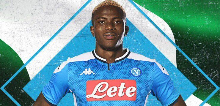 Ufficiale: Osimhen è un nuovo giocatore del Napoli