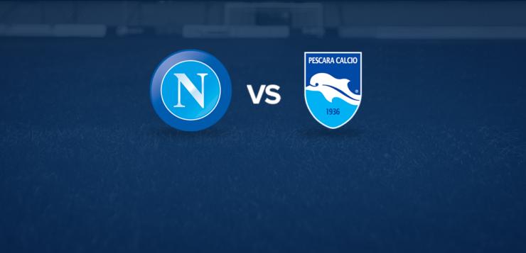Napoli-Pescara: dove vedere la partita in tv e diretta streaming