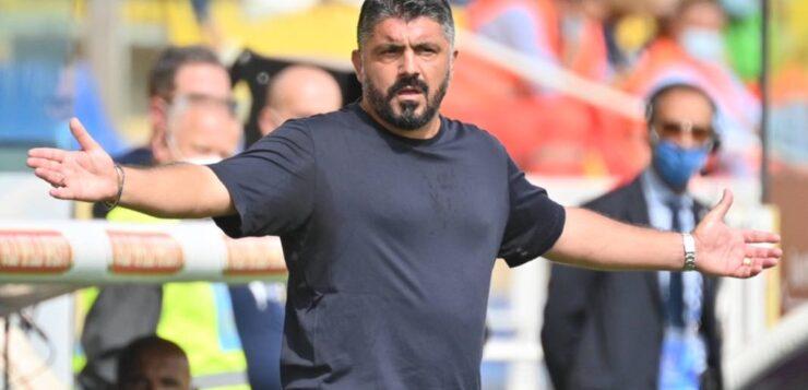 Bologna-Napoli 0-1, Gattuso: dobbiamo stare sul pezzo, quando subiamo bisogna reagire subito