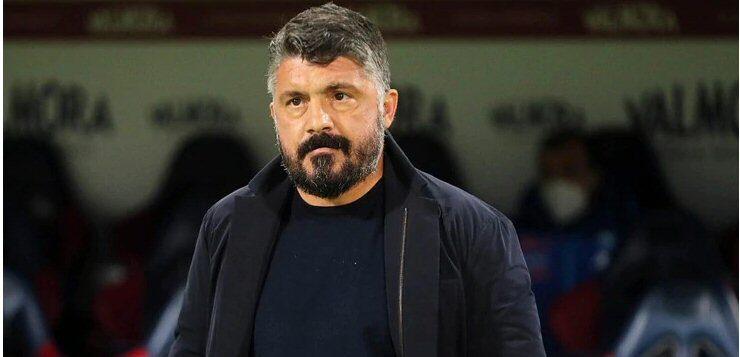 """Napoli-Milan 1-3, Gattuso: """"Dobbiamo giocare più seriamente, non perdiamo per sfortuna"""""""