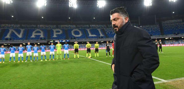 """Napoli-Empoli 3-2, Gattuso: """"Creiamo e concediamo tanto, serve equilibrio"""""""