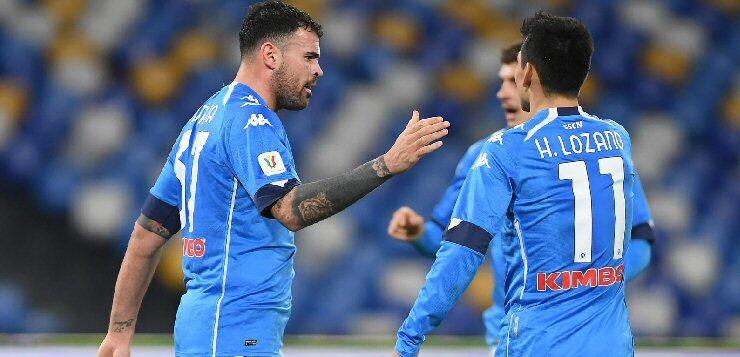 Napoli-Empoli 3-2: azzurri ai quarti con sofferenza, toscani fuori a testa alta