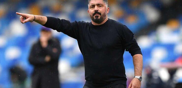 """Napoli-Fiorentina 6-0, Gattuso: """"Per diventare grandi mancano veleno e cazzimma"""""""