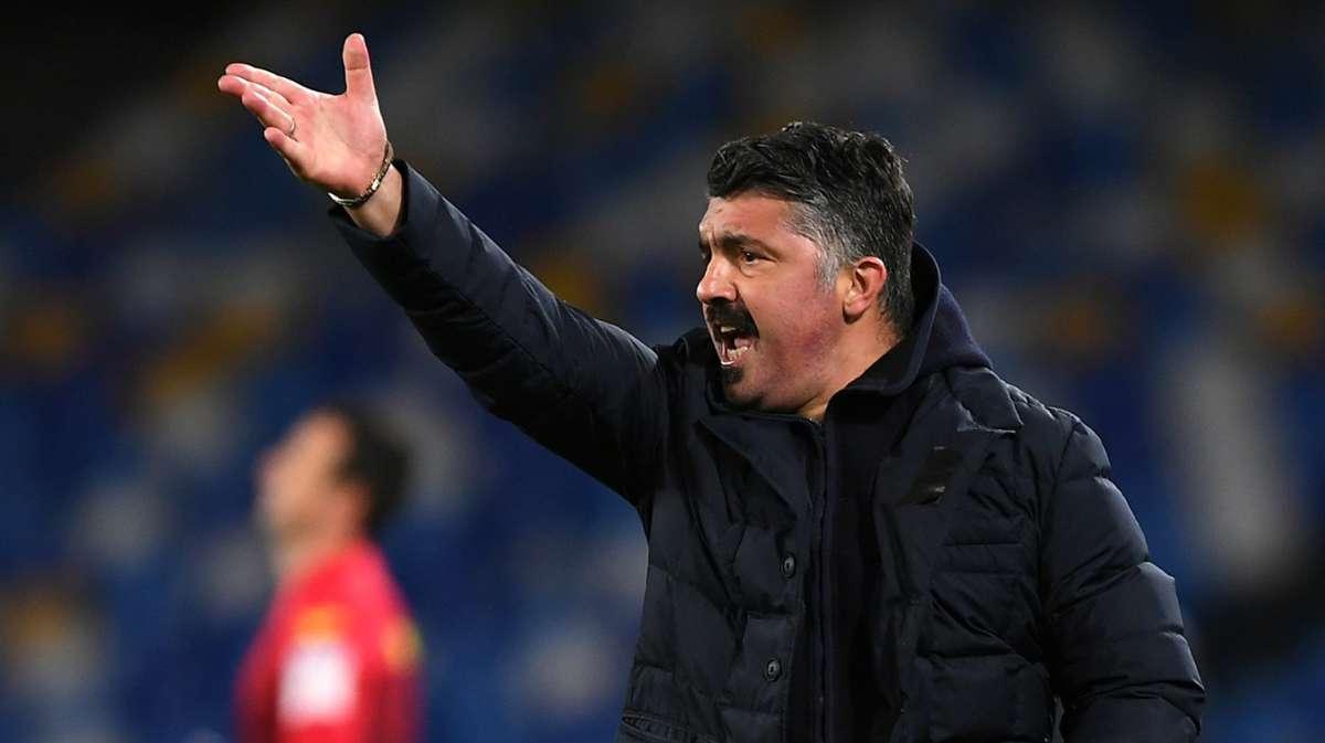 """Napoli-Juventus 1-0, Gattuso: """"Grande vittoria, abbiamo saputo soffrire"""" - NAPOLI CALCIO"""