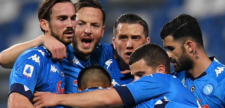 Sassuolo-Napoli 3-3: incredibile pareggio, gli azzurri fanno tutto da soli - NAPOLI CALCIO