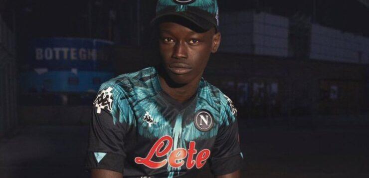 Napoli-Inter: svelata la maglia che sarà indossata dagli azzurri