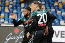Napoli-Inter 1-1, autogoal Handanovic