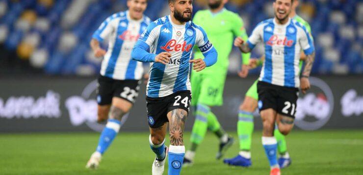 Napoli-Lazio 5-2, Insigne mattatore