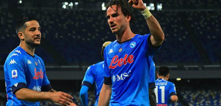Napoli-Udinese 5-1, goal Fabian Ruiz