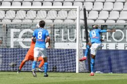 Spezia-Napoli 1-4, doppietta Osimhen