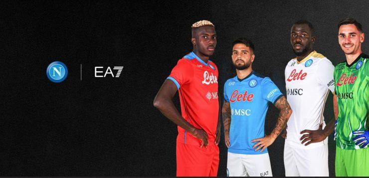 Disponibile alla vendita la nuova maglia EA7 – SSC Napoli!