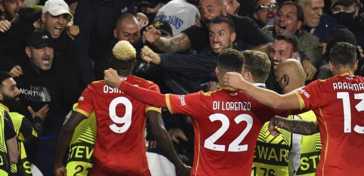 Leicester-Napoli 2-2: due volte Osimhen, pari azzurro di rimonta