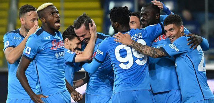 Udinese-Napoli 0-4: Osimhen, Rrahmani, Koulibaly e Lozano regalano il primo posto