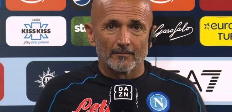 """Napoli-Torino 1-0, Spalletti: """"Ecco dove è cresciuta la squadra"""""""
